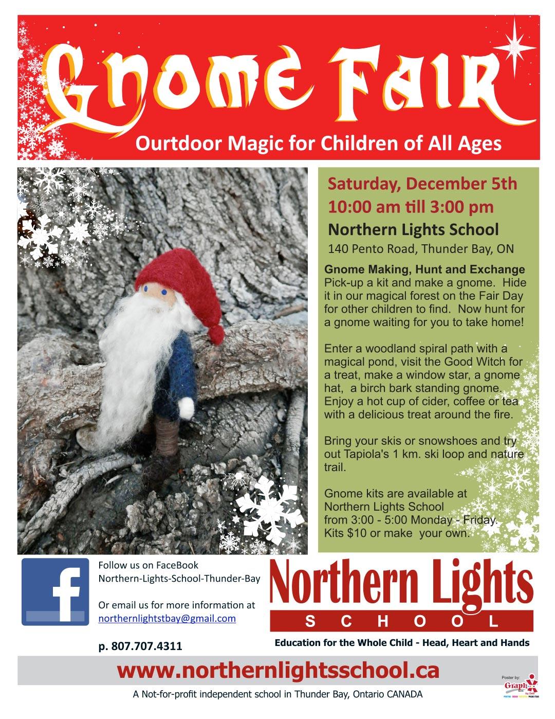 Gnome Fair poster 2020